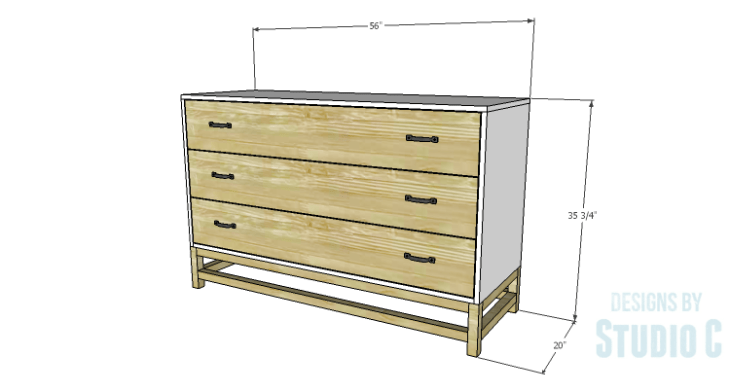DIY Plans to Build a Sterling Dresser