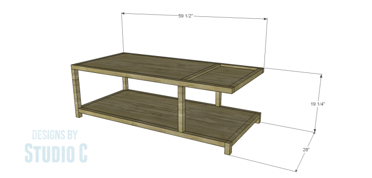 DIY Plans to Build a Bernard Coffee Table