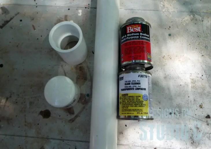 DIY Indoor/Outdoor TV Antenna Extension_PVC Supplies