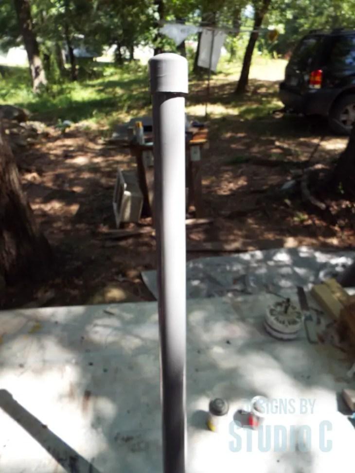 DIY Indoor/Outdoor TV Antenna Extension_Painted