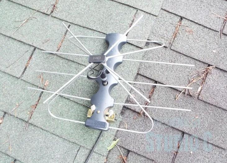 DIY Indoor/Outdoor TV Antenna Extension_Antenna