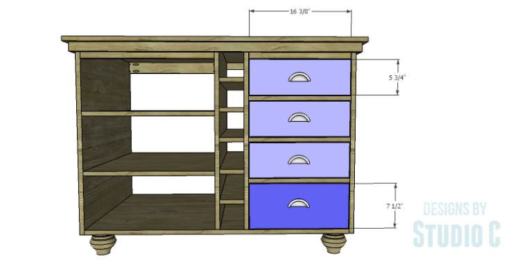 DIY Plans to Build a Carey Kitchen Island_Drawer Fronts 2
