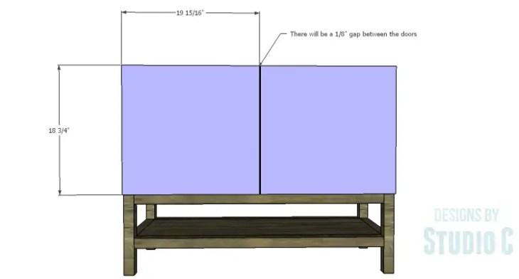 DIY Plans to Build a Caroline Buffet_Doors