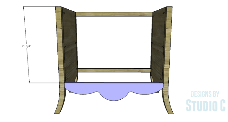 DIY Plans to Build a Celia Dresser_Front Apron 2