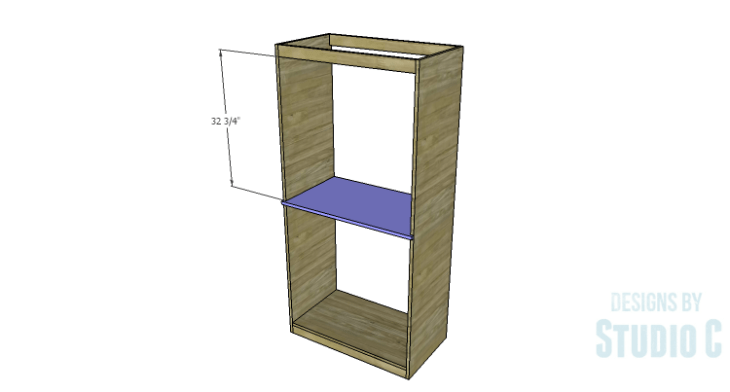 DIY Plans to Build a Country Pantry_Middle Shelf 2