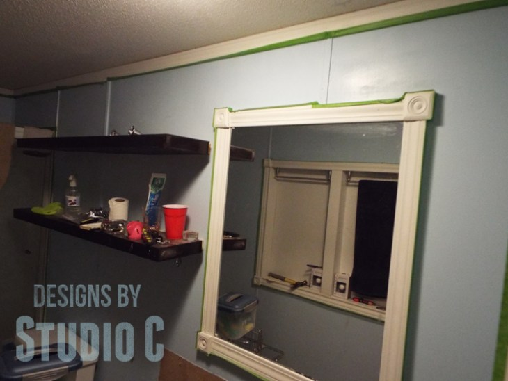 Fabulous Bathroom Update with BEHR Marquee Paint_Before