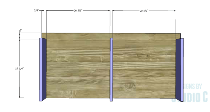 DIY Plans to Build a Mayweather Tall Dresser_Base Supports