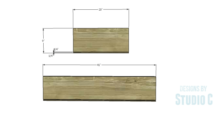 DIY Plans to Build a Mayweather Tall Dresser_Drawer 1