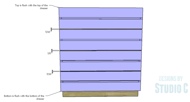 DIY Plans to Build a Mayweather Tall Dresser_Drawer Fronts 2
