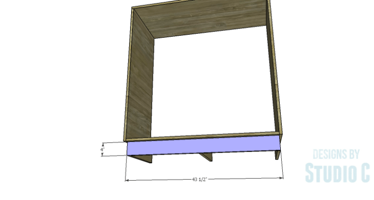 DIY Plans to Build a Mayweather Tall Dresser_Kick Plate