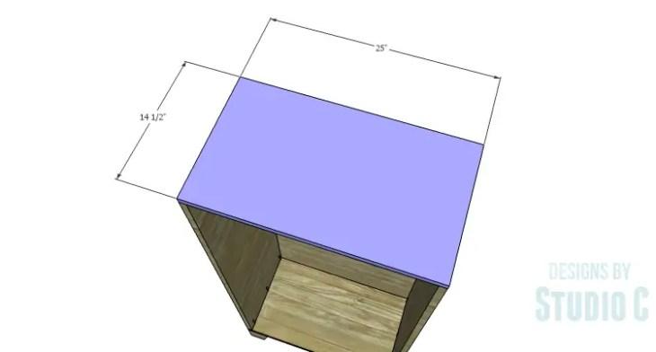 DIY Plans to Build a Coat Cabinet-Top