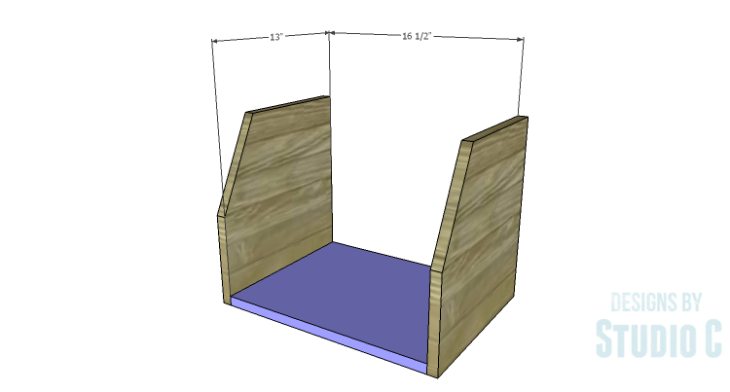 DIY Plans to Build a Cole Nightstand-Bottom