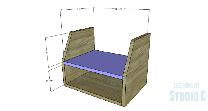 DIY Plans to Build a Cole Nightstand-Shelf