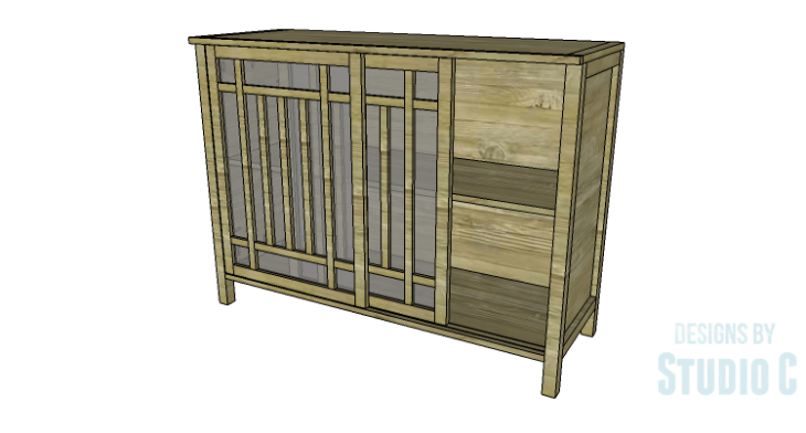 DIY Plans to Build a Simone Sideboard-Copy 2