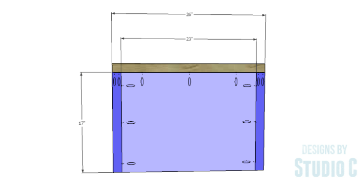 DIY Plans to Build a Tall Cabinet Base-Top 1