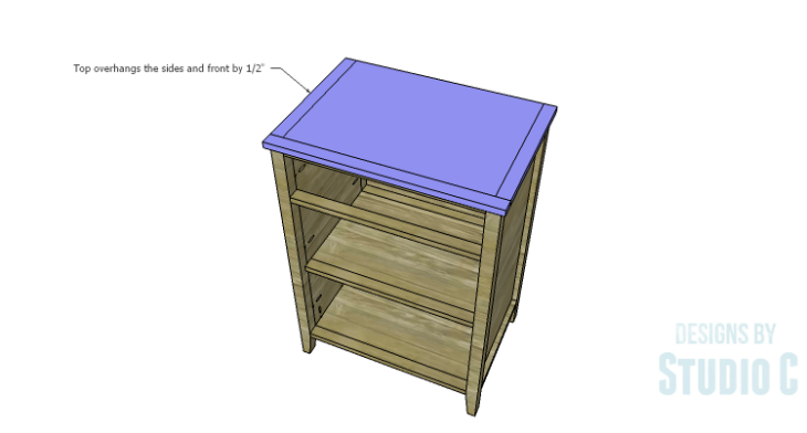 DIY Plans to Build a Tall Cabinet Base-Top 2