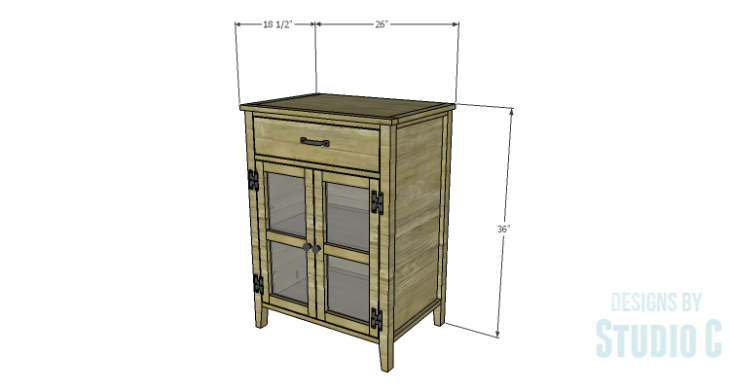 DIY Plans to Build a Tall Cabinet Base