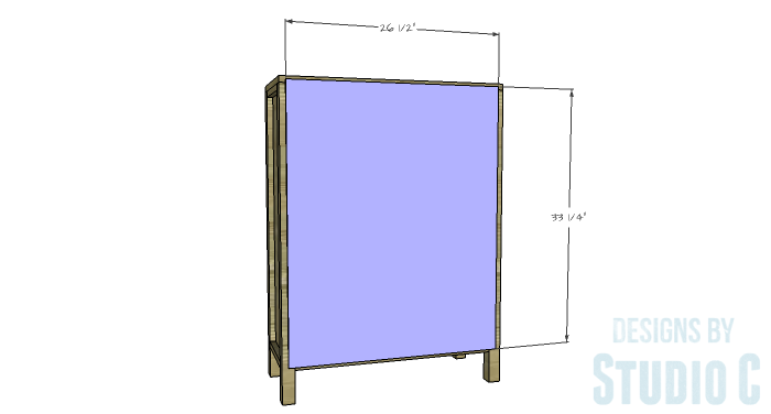 DIY Plans to Build an Ashwin Bookcase-Back
