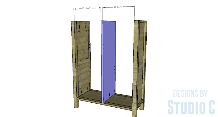 DIY Plans to Build an Ashwin Bookcase-Divider 2