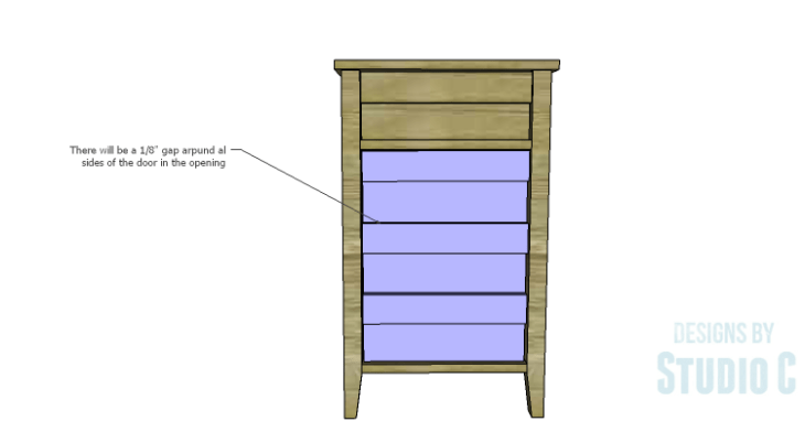 DIY Plans to Build a Cate Chest-Door 2