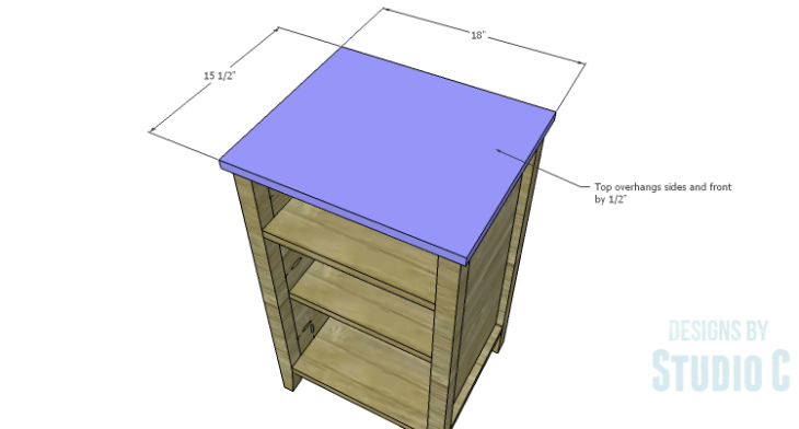 DIY Plans to Build a Cate Chest-Top