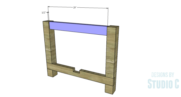 DIY Plans to Build an Easy Rustic Dining Table-Shorter Aprons