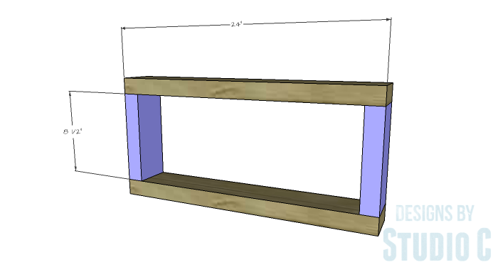 DIY Plans to Build a Westport Coffee Table-Frame Assemblies 1