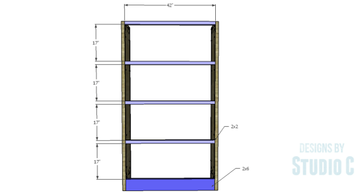 DIY Plans to Build a Woodruff Cabinet-Back Stretchers
