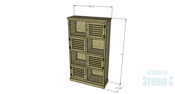 DIY Plans to Build a Woodruff Cabinet