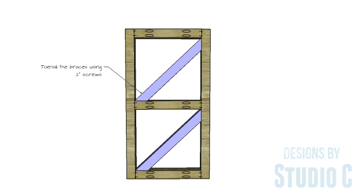 DIY Plans to Build a Grady Console Table-Braces 2