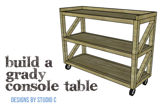 DIY Plans to Build a Grady Console Table-Copy