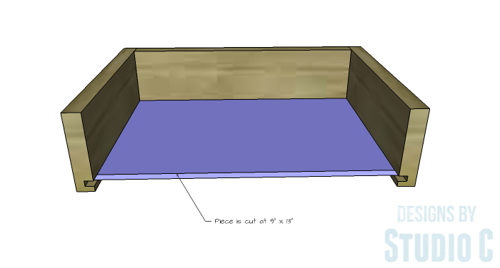 DIY Plans to Build a Storage Console Table-Drawer 3