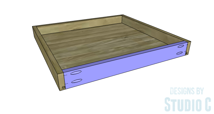 DIY Furniture Plans To Build A Blackwell Side Table Drawer 4