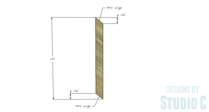 DIY Furniture Plans to Build a Truss-Leg Dining Table-Bracing 1