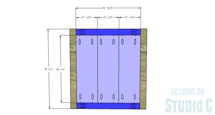 DIY Furniture Plans to Build Ryan's End Table - Door 1