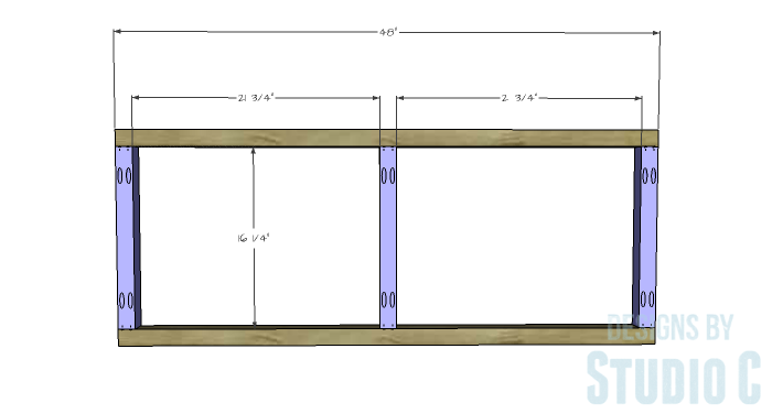 DIY Furniture Plans to Build a Coffee Table with Slide-Out Extensions - Coffee Table Frames