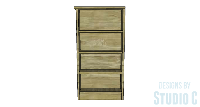 DIY Furniture Plans to Build a Dresser with Side Storage - Copy 2