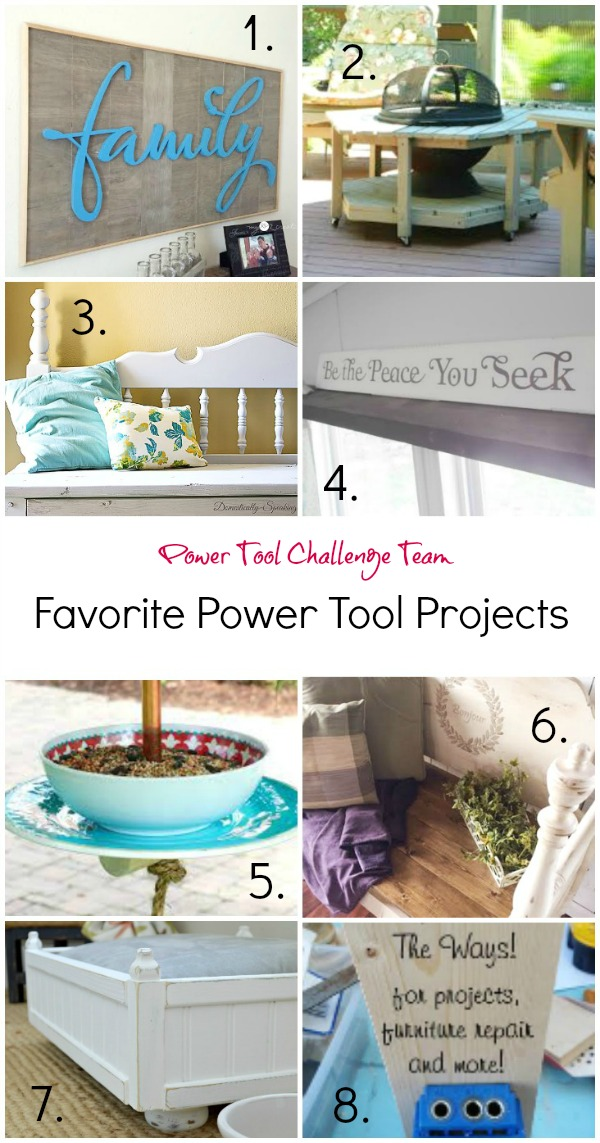 Power Tool Challenge Team Favorite Projects