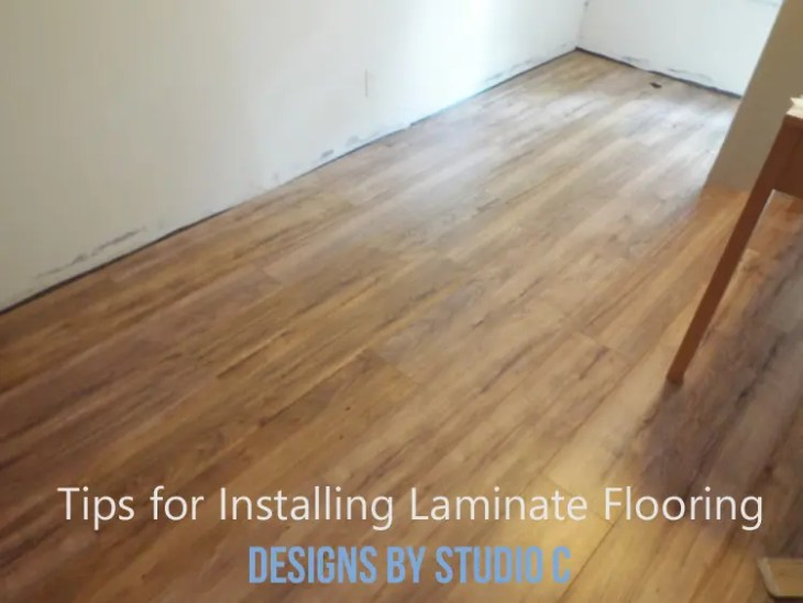 A Few Tips When Installing laminate Flooring