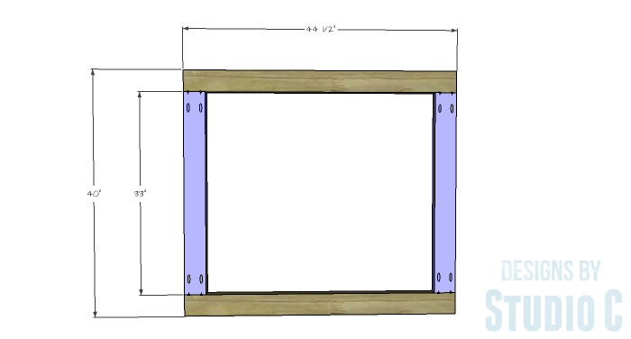 Free Furniture Plans to Build a DIY Ikea Inspired Malm Twin Bed - headboard-1
