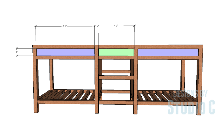 DIY furniture plans to build a Cuszco Console Table_Front Inserts