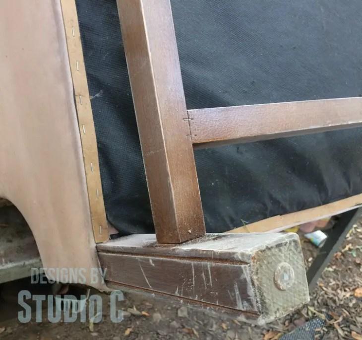 sanding-repainting-legs-chair-sanded