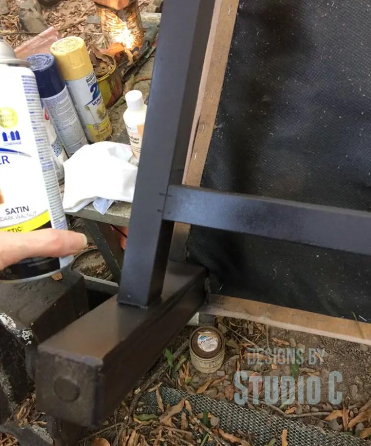 sanding-repainting-legs-chair-paint