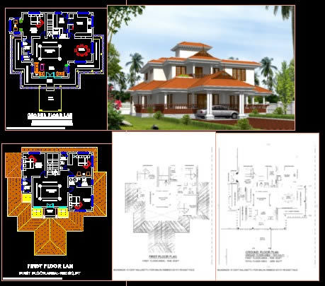 Nalukettu DWG Elevation For AutoCAD Designs CAD