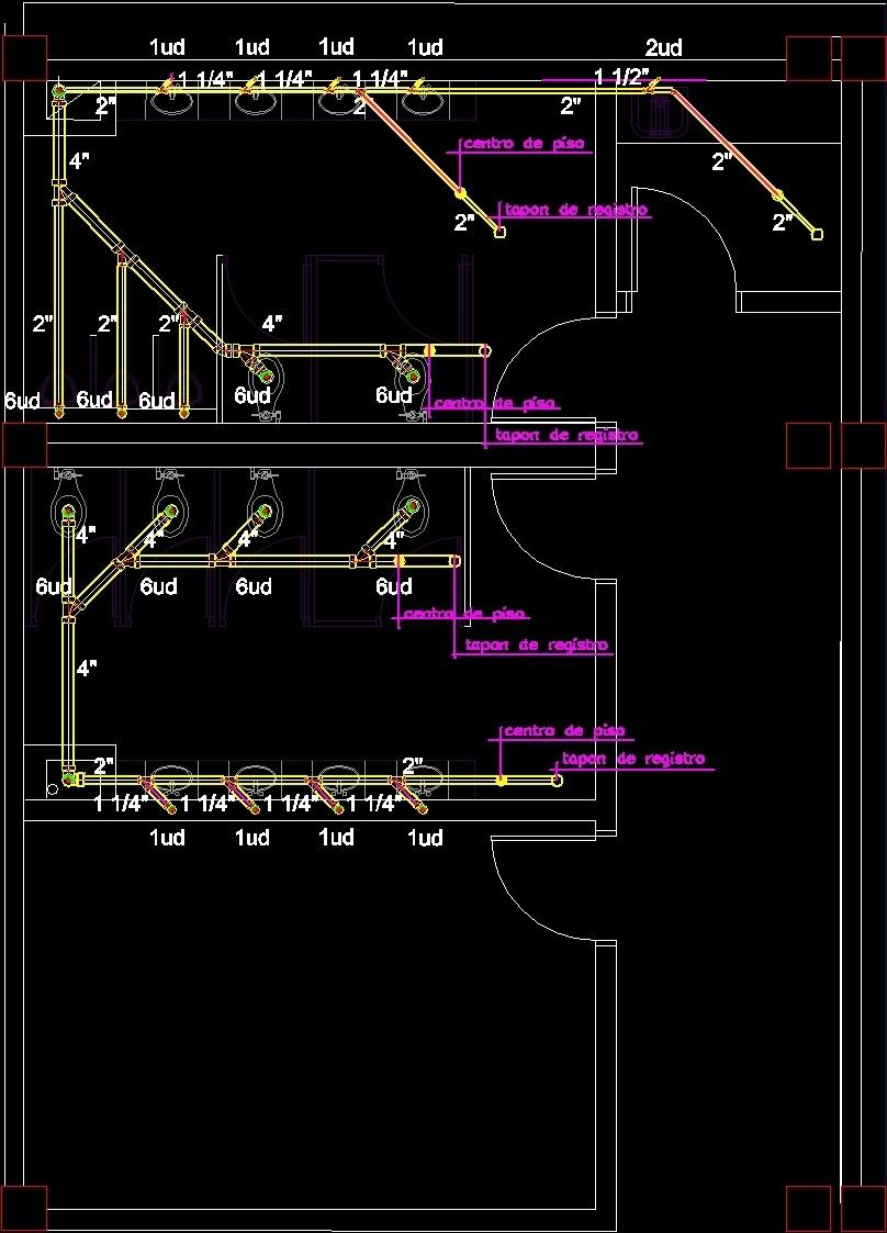Autocad Hvac Drawing Dwg Floor Plan 808x1123