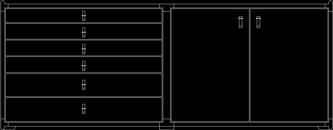 Furniture Office Cad 2d Blocks