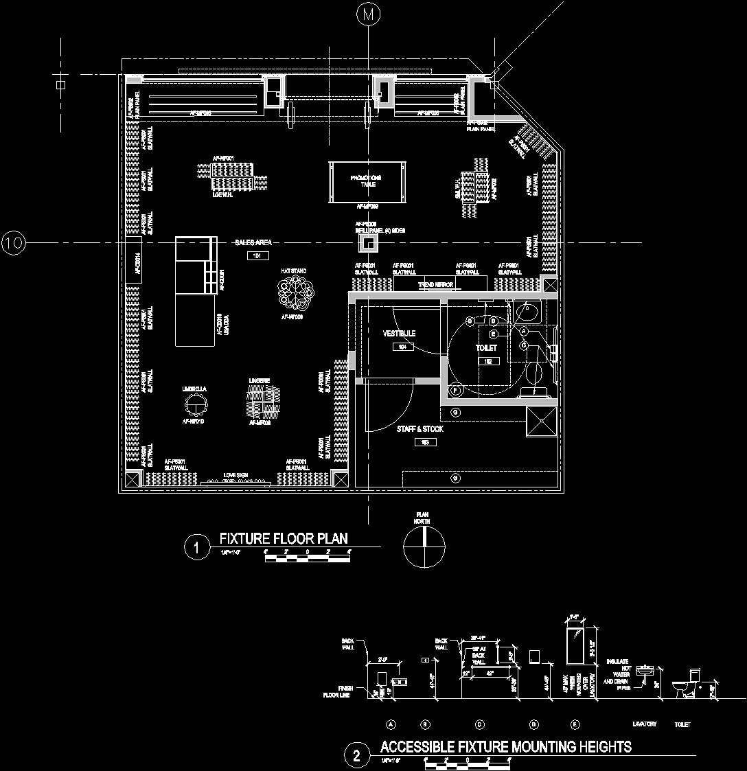 Retail Store Plans DWG Plan For AutoCAD Designs CAD