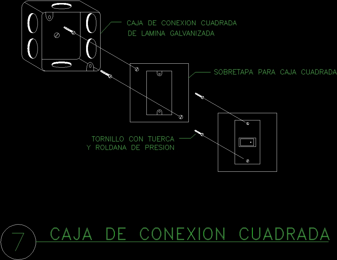Electrical Cocking Mechanisms DWG Block For AutoCAD