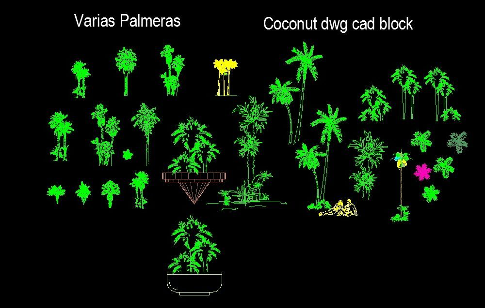Landscape Design Plans Dwg