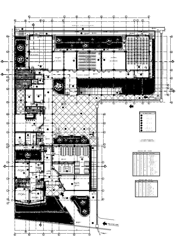 Administration Building 2D DWG Plan For AutoCAD Designs CAD